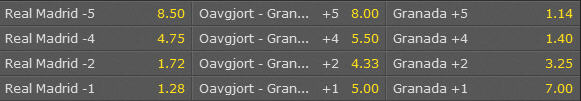 real madrid granada speltips