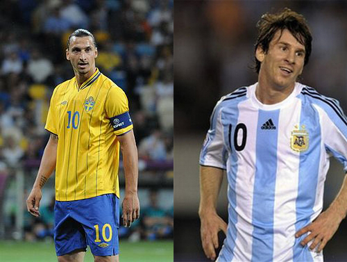 Sverige - Argentina