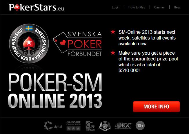 Poker SM Online 2013
