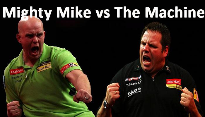 Michael Van Gerwen vs James Wade