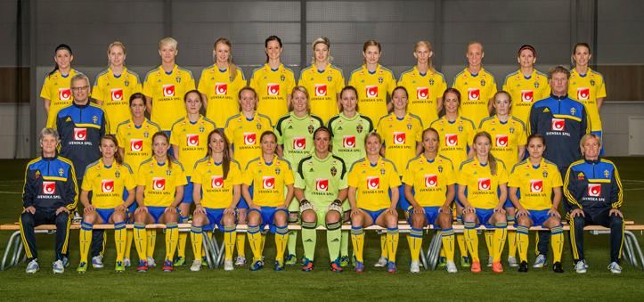 Sverige - England Landskamp Damer