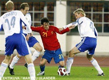 Finland Spanien VM kval