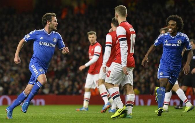 Londonderby Arsenal - Chelsea kl. 21.00 ikväll