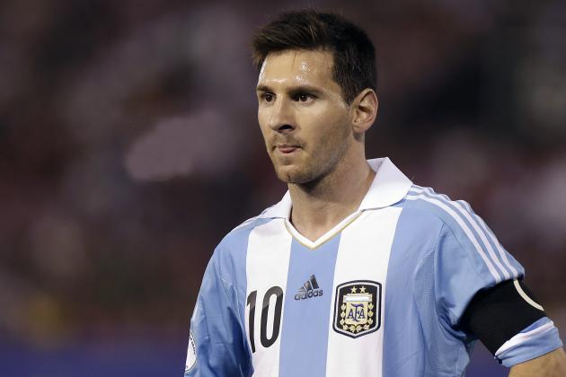 Messi målskytt i mötet Argentina - Bosnien