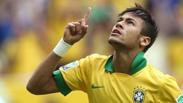 Brasilien - Chile blev en målfest