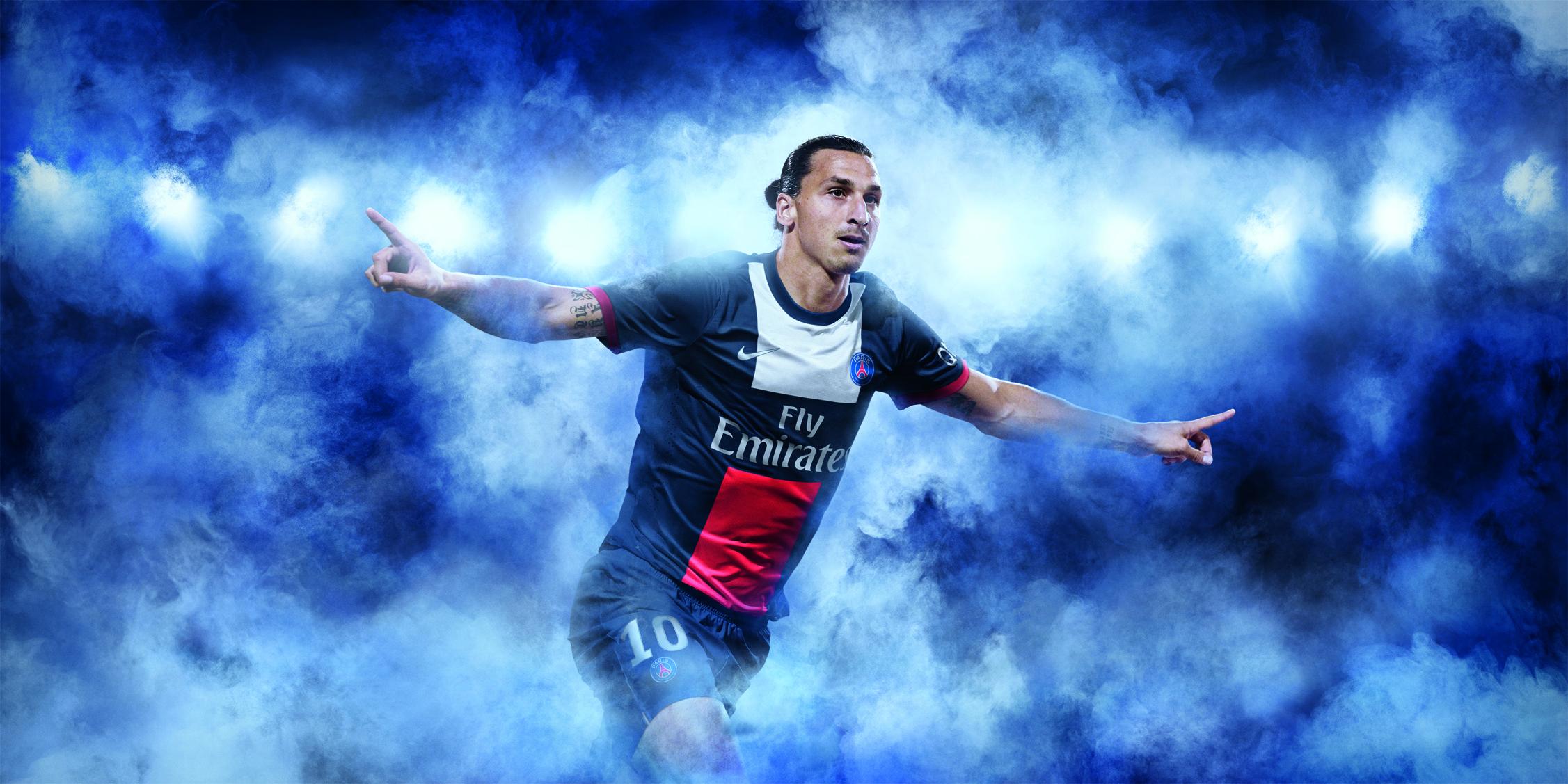 Zlatan Ibrahimovic PSG 2014