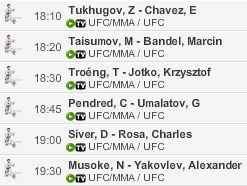 Live Stream UFC Fight Night