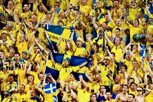 Sverige - Ryssland EM-kval Startelva, Matchstart, TV-kanal