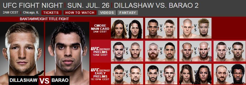 UFC Fight Night 26 juli