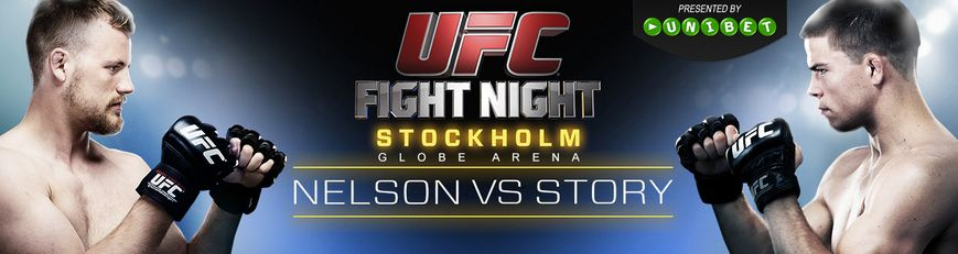 UFC Fight Night Stockholm Odds och Livestreaming