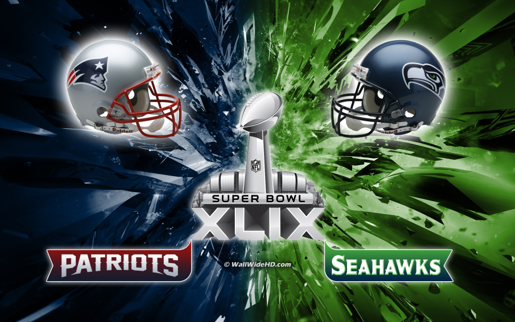 Super Bowl XLIX 2015 Seattle Seahawks-New England Patriots