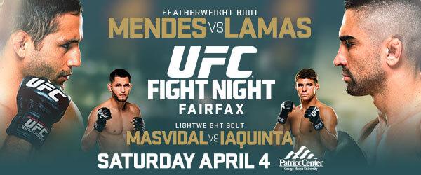 UFC Fight Night 63 Live Stream 4 april