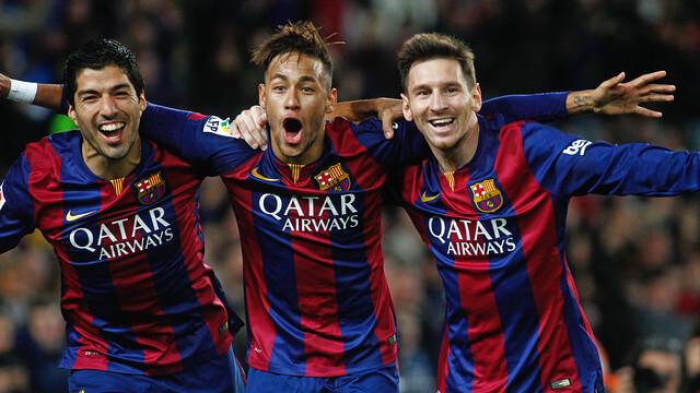 Barcelona stream med Messi, Neymar och Suarez