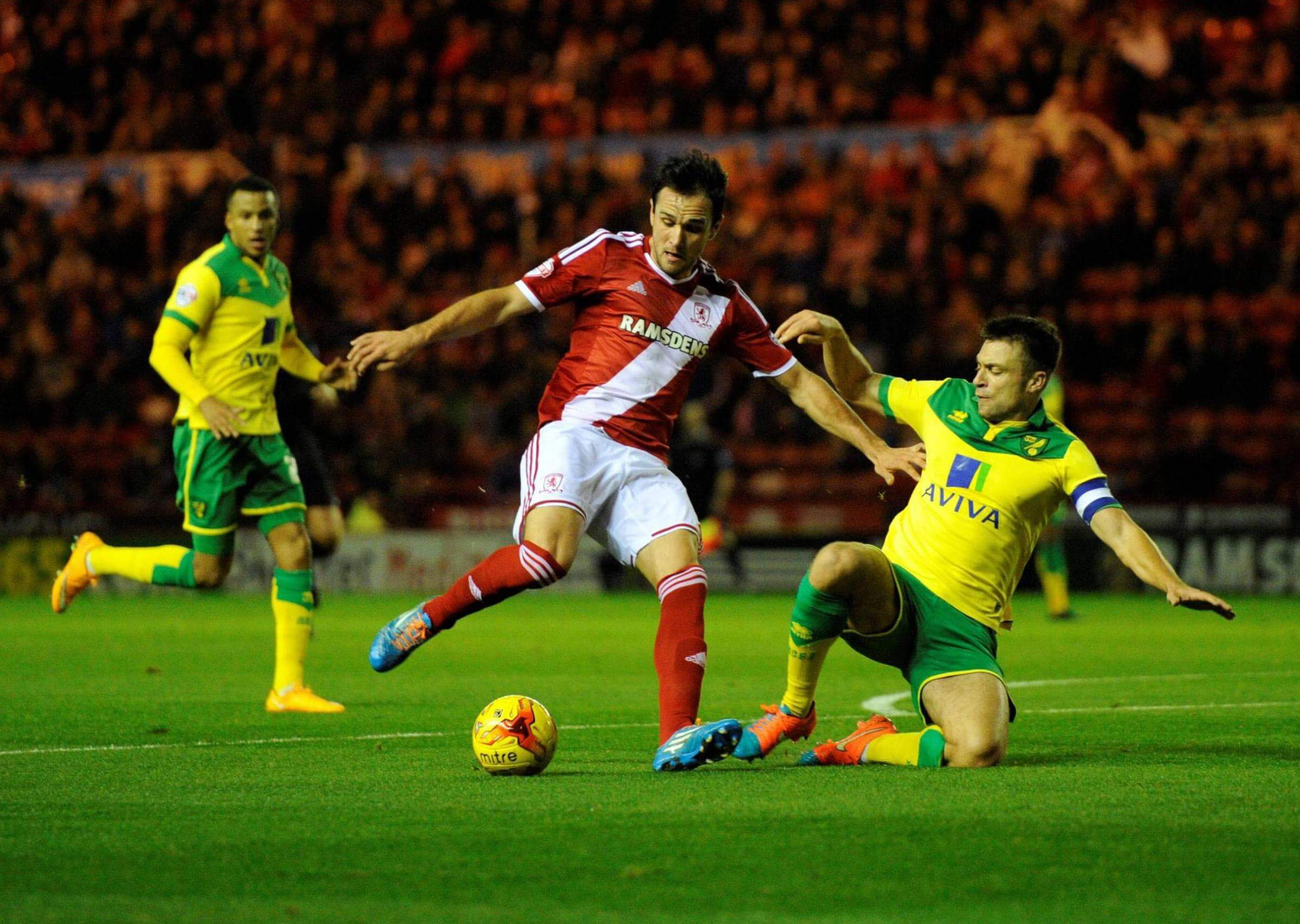 Norwich City - Middlesbrough  Live Streaming 25/5