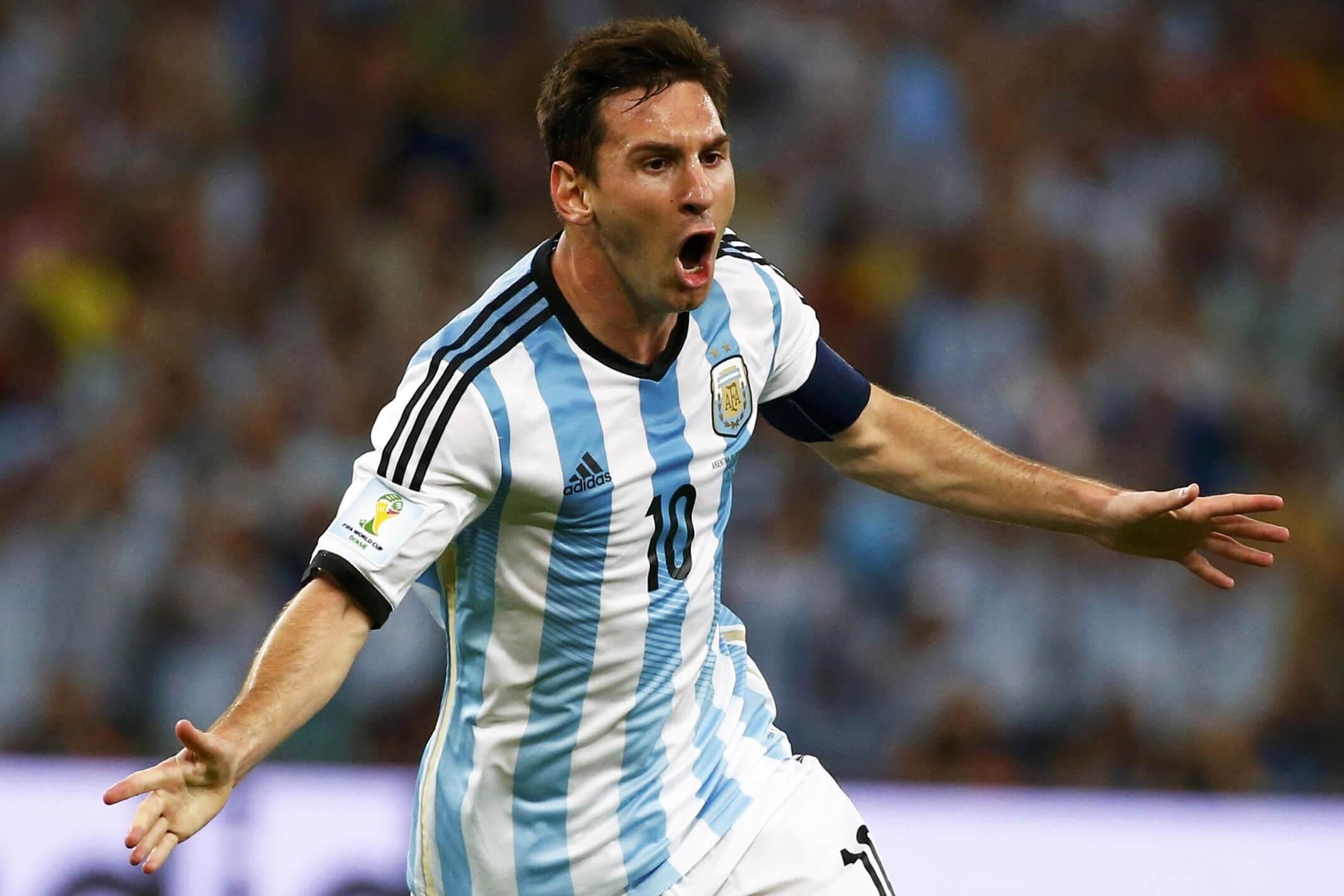 Messi Copa America Final 2015 Chile - Argentina