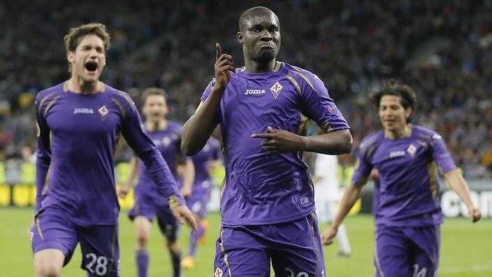 Stark tvåa för Fiorentina