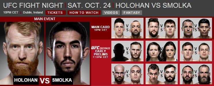 UFC Fight Night 24 okt