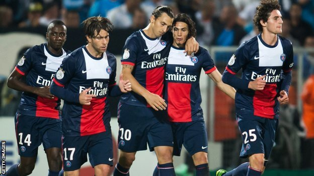 Streama kvällens fotboll från La Liga, Serie A och Ligue 1