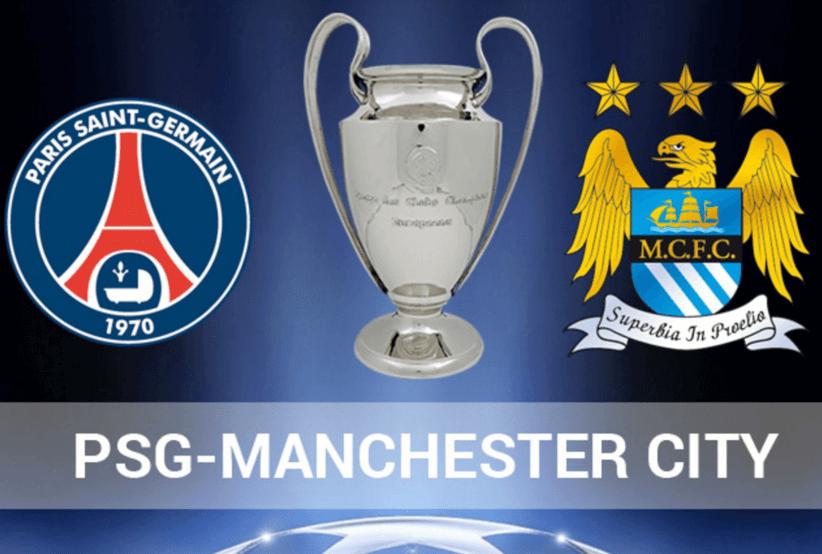 PSG Manchester City champions league 2016