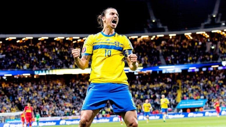 Zlatan Sverige EM-Fotboll