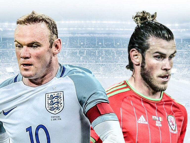 Specialspel med Rooney och Bale