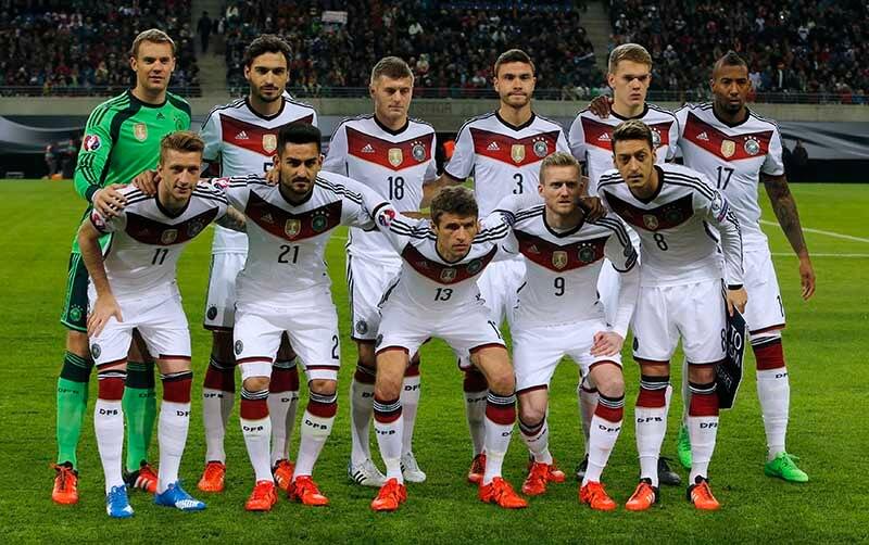 Tyskland - Italien med höjda odds
