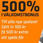 500 % bonus