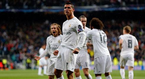 Real Madrid säkrar avancemanget till 1.55