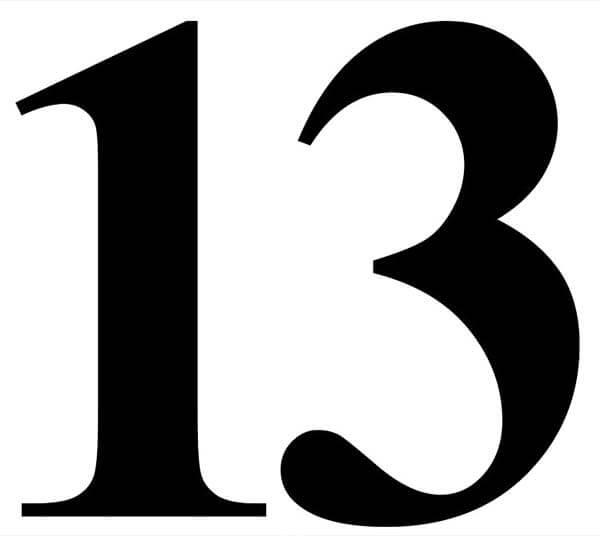 Fredag den 13