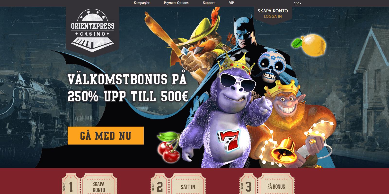 orientxpress casinobonus