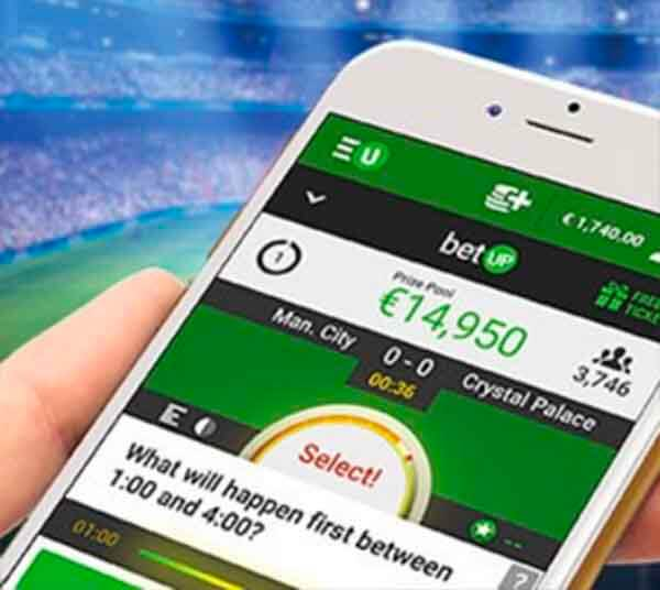 BetUP €10.000 varje dag på Champions League