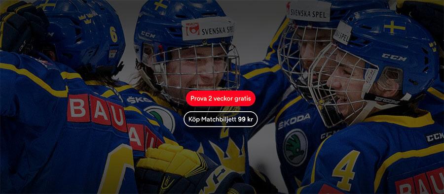 Titta på USA - Sverige i J18-VM