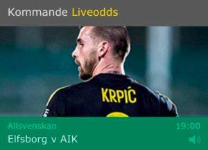 Speltips Elfsborg - AIK