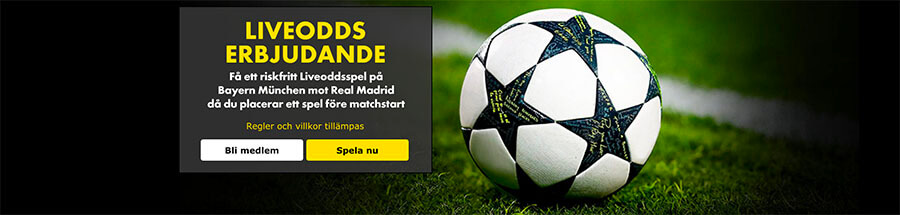 bayern münchen - real madrid live odds