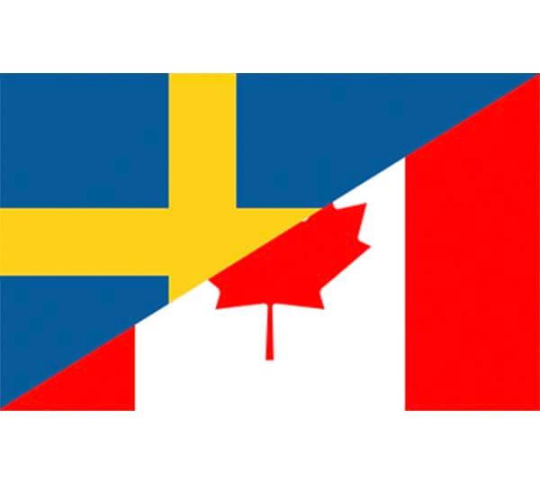Sverige – Kanada Hockey-VM Final 2017