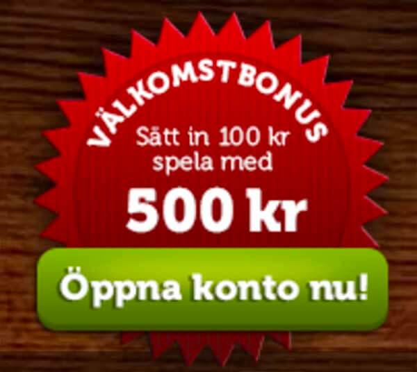 7 juni 2017 – 100 Free Spins bara idag!