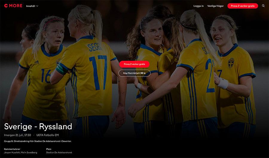Sverige - Ryssland Live Stream