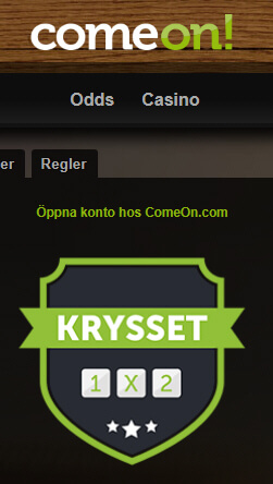 Krysset ComeOn