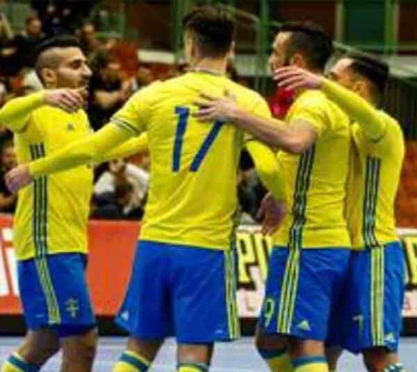 Futsal: Sverige - Ungern Landskamp