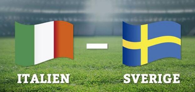italien sverige play off