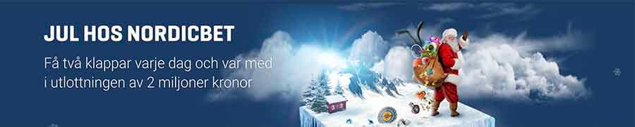 NordicBet Casino Adventskalender 2017