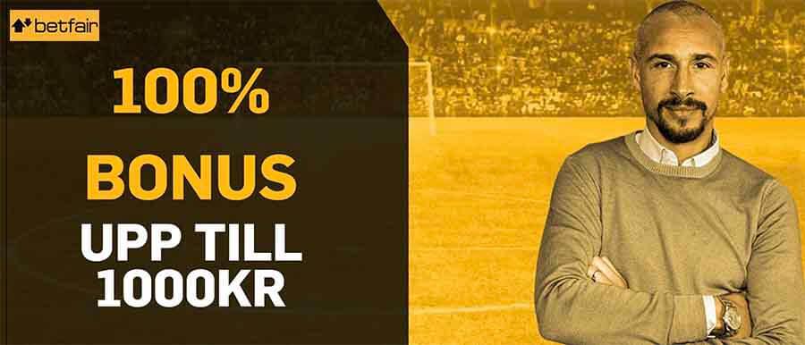 betfair bonus Henrik Larsson
