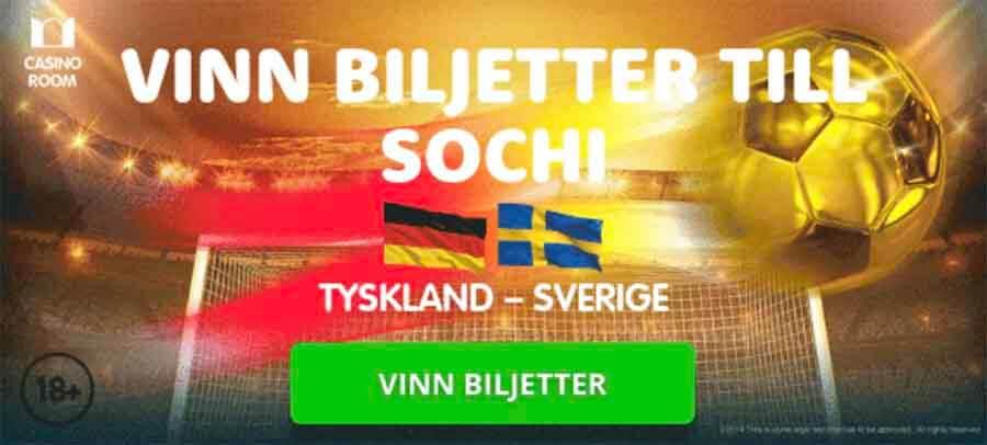 vinn biljetter till sverige tyskland i fotbolls vm 2018