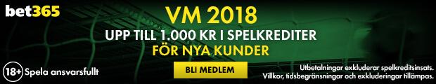 bet365 odds fotbolls VM