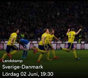 Sverige - Danmark Live Stream
