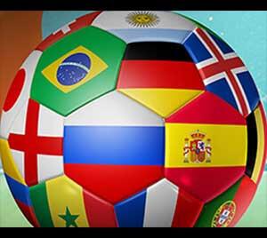 Räkna ned till Fotbolls-VM med gratisspel och vinstökningar