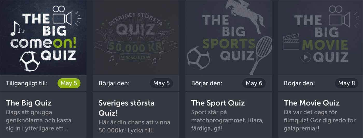 Sveriges Största Live Quiz Online