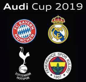 Tottenham – Bayern München Live Stream & Speltips Audi Cup 31/7