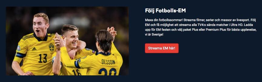 fotbolls-em live streaming